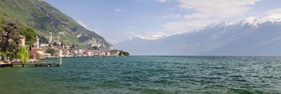 Gargnano, Monte Baldo, Lake Garda, Lombardy, Italy Poster by Panoramic Images for $71.25 CAD
