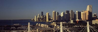 Buildings in a city, Miami, Florida, USA Poster by Panoramic Images for $86.25 CAD