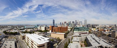 Buildings in Downtown Los Angeles, Los Angeles County, California, USA 2011 Poster by Panoramic Images for $100.00 CAD