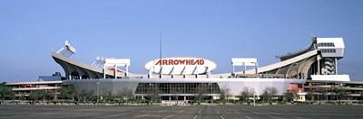 Football stadium, Arrowhead Stadium, Kansas City, Missouri Poster by Panoramic Images for $86.25 CAD
