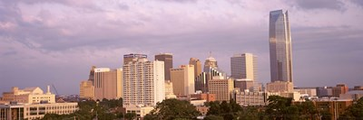 Downtown skyline, Oklahoma City, Oklahoma Poster by Panoramic Images for $71.25 CAD
