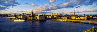 City at the waterfront, Gamla Stan, Stockholm, Sweden Poster by Panoramic Images for $71.25 CAD