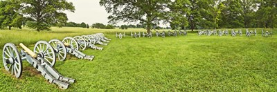 Cannons in a park, Valley Forge National Historic Park, Philadelphia, Pennsylvania, USA Poster by Panoramic Images for $86.25 CAD