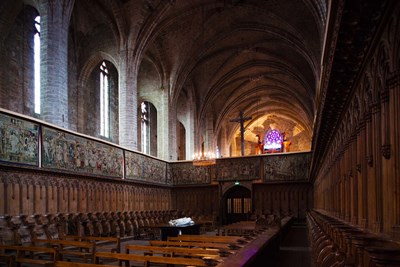 Abbatiale Saint-Robert, Auvergne, France Poster by Panoramic Images for $141.25 CAD