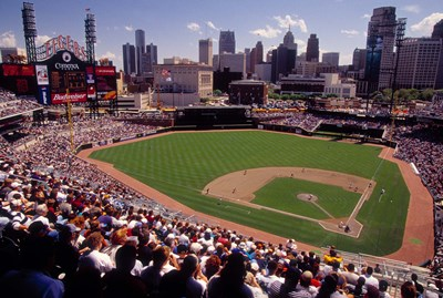 Home of the Detroit Tigers Baseball Team, Comerica Park, Detroit, Michigan, USA Poster by Panoramic Images for $110.00 CAD