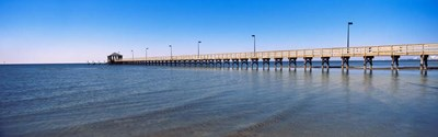 Pier in Biloxi, Mississippi Poster by Panoramic Images for $76.25 CAD