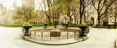 Fountain in Madison Square Park in the spring, Manhattan, New York City, New York State, USA Poster by Panoramic Images for $86.25 CAD