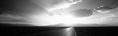 Death Valley National Park at Sunset, California (black & white) Poster by Panoramic Images for $86.25 CAD