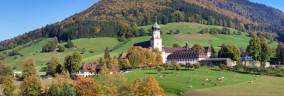 St. Trudpert's Abbey, Black Forest, Baden-Wurttemberg, Germany Poster by Panoramic Images for $90.00 CAD