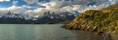 Lake Pehoe, Torres de Paine National Park, Patagonia, Chile Poster by Panoramic Images for $71.25 CAD