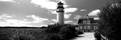 Highland Light, Cape Cod National Seashore, North Truro, Cape Cod, Massachusetts Poster by Panoramic Images for $80.00 CAD