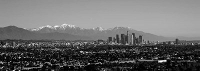 High angle view of a city, Los Angeles, California Poster by Panoramic Images for $83.75 CAD