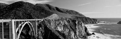 Bixby Creek Bridge, Big Sur, California Poster by Panoramic Images for $78.75 CAD