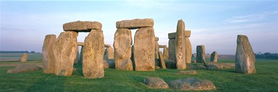 England, Wiltshire, Stonehenge Poster by Panoramic Images for $86.25 CAD