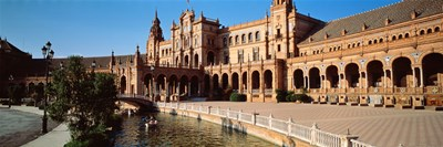 Plaza Espana, Seville, Spain Poster by Panoramic Images for $86.25 CAD