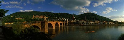 Bridge, Heidelberg, Germany Poster by Panoramic Images for $86.25 CAD
