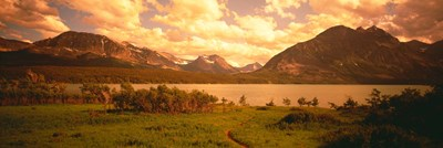 Saint Mary Lake, Montana, USA Poster by Panoramic Images for $86.25 CAD