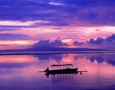 Sunrise, Bali/Sanur, Indonesia Poster by Panoramic Images for $58.75 CAD