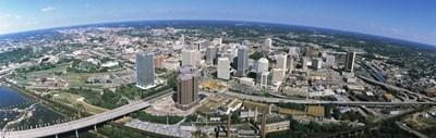 Aerial Richmond VA Poster by Panoramic Images for $86.25 CAD
