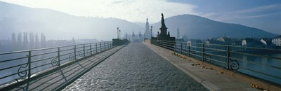 Bridge Over The Neckar River, Heidelberg, Germany Poster by Panoramic Images for $86.25 CAD
