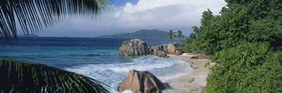 Indian Ocean La Digue Island Seychelles Poster by Panoramic Images for $71.25 CAD
