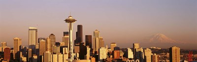 Skyline, Seattle, Washington State, USA Poster by Panoramic Images for $71.25 CAD