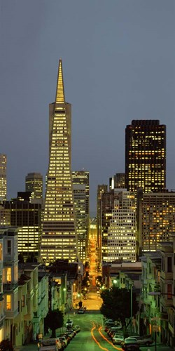San Francisco, CA Poster by Panoramic Images for $73.75 CAD