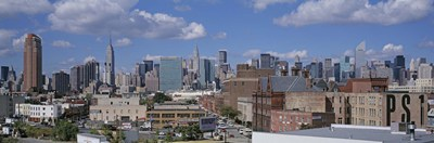 Aerial View Of An Urban City, Queens, NYC, New York City, New York State, USA Poster by Panoramic Images for $67.50 CAD