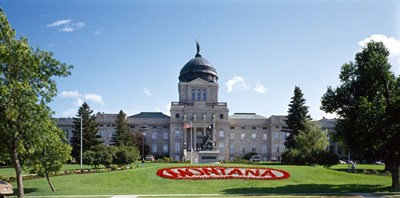 Montana State Capitol, Helena, Montana Poster by Panoramic Images for $67.50 CAD
