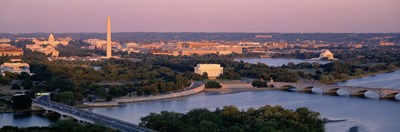 Aerial, Washington DC, District Of Columbia, USA Poster by Panoramic Images for $86.25 CAD