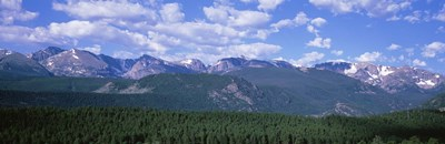 Mountains fr Beaver Meadows Rocky Mt National Park CO USA Poster by Panoramic Images for $86.25 CAD