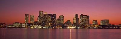 Sunset Boston MA Poster by Panoramic Images for $86.25 CAD