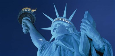 Statue of Liberty, New York Poster by Panoramic Images for $73.75 CAD