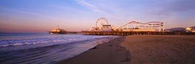 Santa Monica Pier, California Poster by Panoramic Images for $90.00 CAD