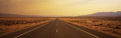Desert Highway, Nevada, USA Poster by Panoramic Images for $71.25 CAD