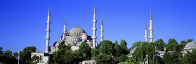 Blue Mosque, Istanbul, Turkey Poster by Panoramic Images for $86.25 CAD