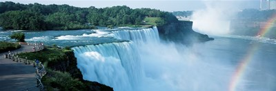 American Falls Niagara Falls NY USA Poster by Panoramic Images for $71.25 CAD