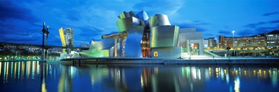 Guggenheim Museum, Bilbao, Spain Poster by Panoramic Images for $86.25 CAD
