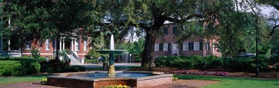 Columbia Square Historic District, Savannah, GA Poster by Panoramic Images for $91.25 CAD