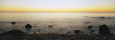 Rocks on the beach, Block Island, Rhode Island, USA Poster by Panoramic Images for $86.25 CAD
