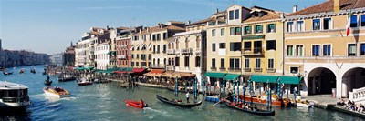 High angle view of a canal, Grand Canal, Venice, Italy Poster by Panoramic Images for $71.25 CAD