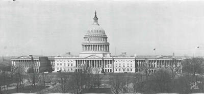 US Capitol, Washington DC, 1916 Poster by Panoramic Images for $73.75 CAD