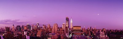 Midtown NYC, New York City, New York State, USA Poster by Panoramic Images for $71.25 CAD