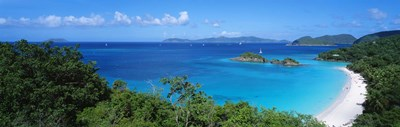 Trunk Bay, St. John US Virgin Islands Poster by Panoramic Images for $86.25 CAD