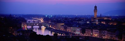 Arno River Florence Italy Poster by Panoramic Images for $82.50 CAD