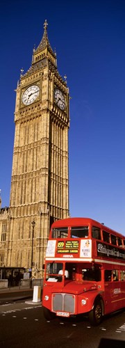 Big Ben, London, United Kingdom Poster by Panoramic Images for $71.25 CAD