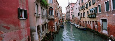 Buildings on both sides of a canal, Grand Canal, Venice, Italy Poster by Panoramic Images for $71.25 CAD