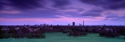 Building In A City Near A Park, Primrose Hill, London, England, United Kingdom Poster by Panoramic Images for $86.25 CAD