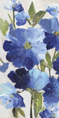 Cobalt Poppies II Poster by Asia Jensen for $52.50 CAD