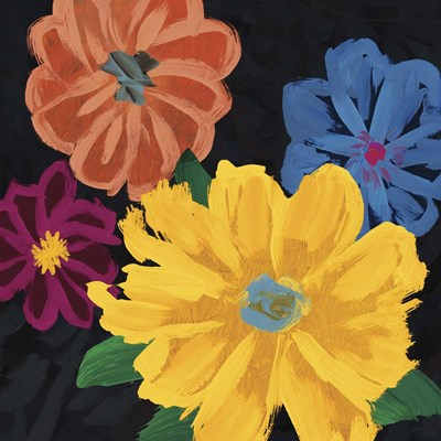 Bright Flowers I Poster by Edward Selkirk for $56.25 CAD